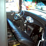 1934 Ford Pickup interior