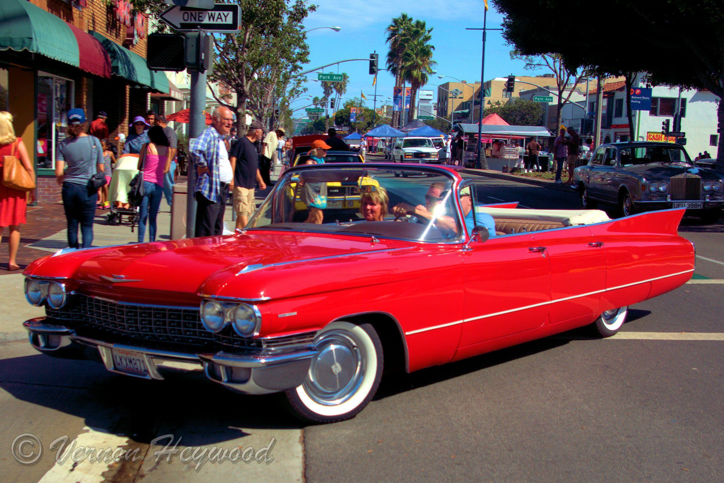 Cadillac Car Shows >> 1961 Cadillac Deville Convertible 2014 Belmont Shores Car