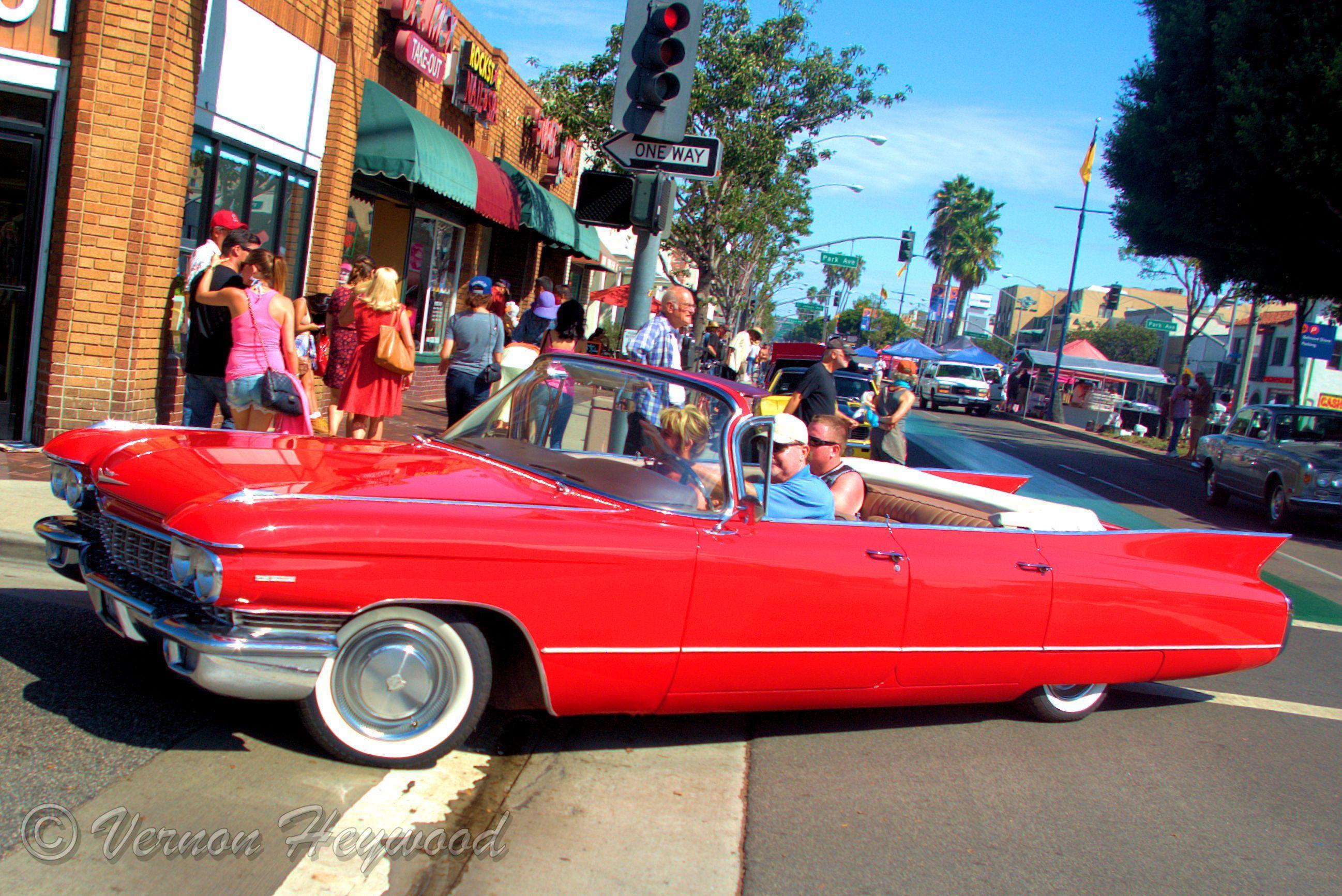 1961 Cadillac Deville Convertible 2014 Belmont Shores Car Show