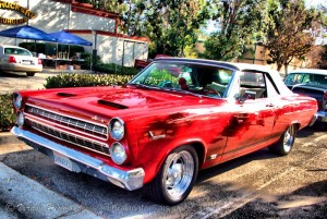 1966 Mercury Comet Cyclone GT convertible front and side