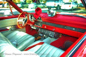 1966 Mercury Comet Cyclone GT interior