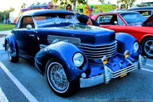1937 Cord at the Lake Forest Car Show